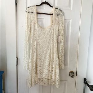 NWT Free People Flirt For You Dress